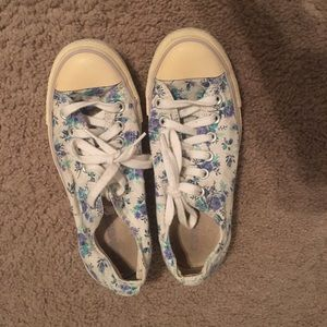 Floral converse all star